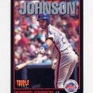 1993 Donruss Triple Play Baseball #086 Howard Johnson - New York Mets