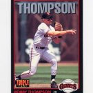 1993 Donruss Triple Play Baseball #081 Robby Thompson - San Francisco Giants