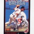 1993 Donruss Triple Play Baseball #080 Carlos Baerga - Cleveland Indians