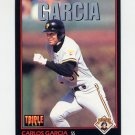 1993 Donruss Triple Play Baseball #065 Carlos Garcia - Pittsburgh Pirates