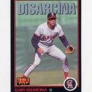 1993 Donruss Triple Play Baseball #058 Gary DiSarcina - California Angels