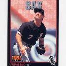 1993 Donruss Triple Play Baseball #047 Steve Sax - Chicago White Sox