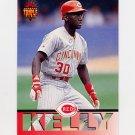 1994 Donruss Triple Play Baseball #213 Roberto Kelly - Cincinnati Reds