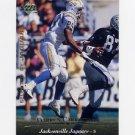 1995 Upper Deck Football #288 Darren Carrington - Jacksonville Jaguars