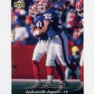 1995 Upper Deck Football #286 Keith Goganious - Jacksonville Jaguars