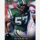 1995 Upper Deck Football #245 Mo Lewis - New York Jets