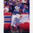 1995 Upper Deck Football #213 Bucky Brooks - Buffalo Bills
