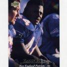 1995 Upper Deck Football #160 Marion Butts - New England Patriots