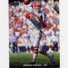 1995 Upper Deck Football #126 Jeff George - Atlanta Falcons