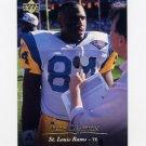 1995 Upper Deck Football #099 Troy Drayton - St. Louis Rams