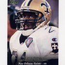 1995 Upper Deck Football #041 Derek Brown - New Orleans Saints