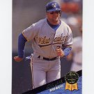 1993 Leaf Baseball #350 John Jaha - Milwaukee Brewers