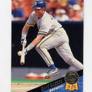 1993 Leaf Baseball #327 Dave Nilsson - Milwaukee Brewers