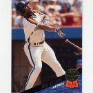 1993 Leaf Baseball #218 Eric Anthony - Houston Astros