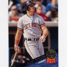 1993 Leaf Baseball #213 Mickey Tettleton - Detroit Tigers