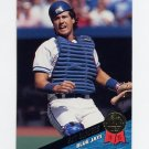 1993 Leaf Baseball #157 Pat Borders - Toronto Blue Jays