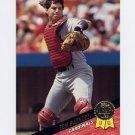 1993 Leaf Baseball #136 Tom Pagnozzi - St. Louis Cardinals