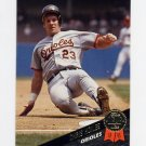 1993 Leaf Baseball #133 Chris Hoiles - Baltimore Orioles