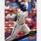 1993 Leaf Baseball #058 Brian McRae - Kansas City Royals