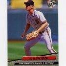 1992 Ultra Baseball #595 Cory Snyder - San Francisco Giants
