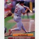 1992 Ultra Baseball #568 Rex Hudler - St. Louis Cardinals