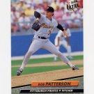 1992 Ultra Baseball #558 Bob Patterson - Pittsburgh Pirates