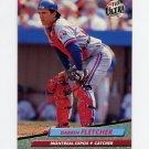 1992 Ultra Baseball #517 Darrin Fletcher - Montreal Expos