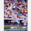 1992 Ultra Baseball #505 Dave Hansen - Los Angeles Dodgers