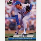 1992 Ultra Baseball #504 Jim Gott - Los Angeles Dodgers