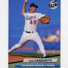 1992 Ultra Baseball #501 Tom Candiotti - Los Angeles Dodgers