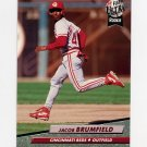 1992 Ultra Baseball #481 Jacob Brumfield - Cincinnati Reds