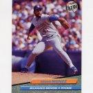 1992 Ultra Baseball #387 Edwin Nunez - Milwaukee Brewers