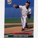 1992 Ultra Baseball #364 Mike Henneman - Detroit Tigers