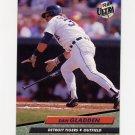1992 Ultra Baseball #361 Dan Gladden - Detroit Tigers