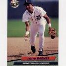 1992 Ultra Baseball #358 Skeeter Barnes - Detroit Tigers