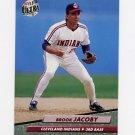 1992 Ultra Baseball #349 Brook Jacoby - Cleveland Indians