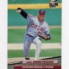 1992 Ultra Baseball #344 Jack Armstrong - Cleveland Indians