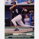 1992 Ultra Baseball #337 Mike Huff - Chicago White Sox