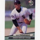 1992 Ultra Baseball #335 Alex Fernandez - Chicago White Sox