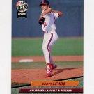 1992 Ultra Baseball #328 Scott Lewis - California Angels