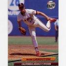 1992 Ultra Baseball #327 Mark Langston - California Angels