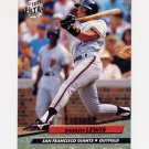 1992 Ultra Baseball #292 Darren Lewis - San Francisco Giants