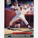 1992 Ultra Baseball #286 John Burkett - San Francisco Giants