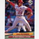 1992 Ultra Baseball #266 Omar Olivares - St. Louis Cardinals
