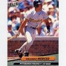 1992 Ultra Baseball #257 Orlando Merced - Pittsburgh Pirates