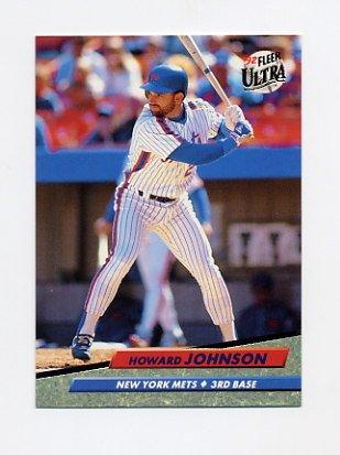 1992 Ultra Baseball #235 Howard Johnson - New York Mets