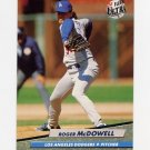 1992 Ultra Baseball #214 Roger McDowell - Los Angeles Dodgers