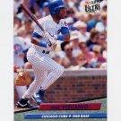 1992 Ultra Baseball #182 Jose Vizcaino - Chicago Cubs