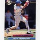 1992 Ultra Baseball #174 Shawon Dunston - Chicago Cubs