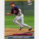 1992 Ultra Baseball #165 Mark Lemke - Atlanta Braves